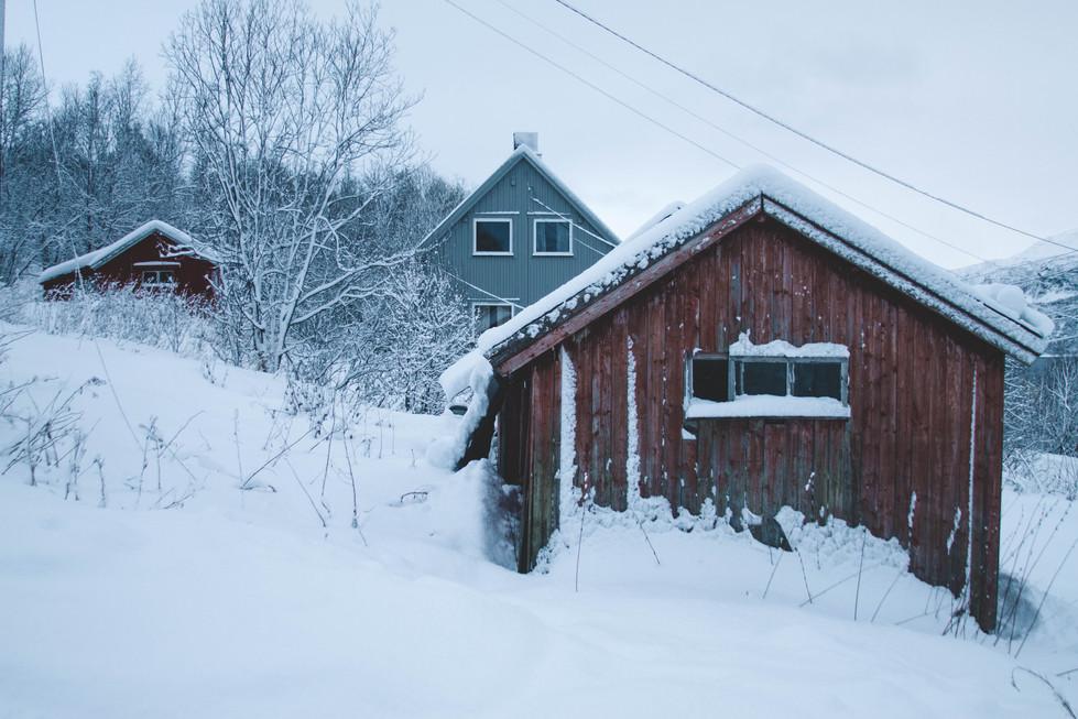 Maisons traditionelles Norvègiennes