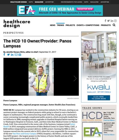 Healthcare Design Magazine