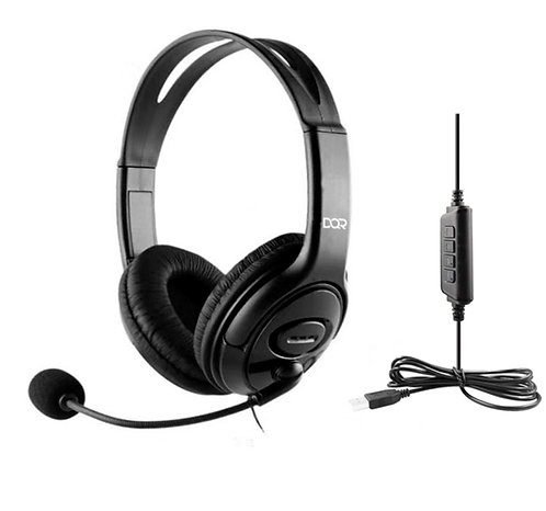 Headset DQR GH527 with microphone USB