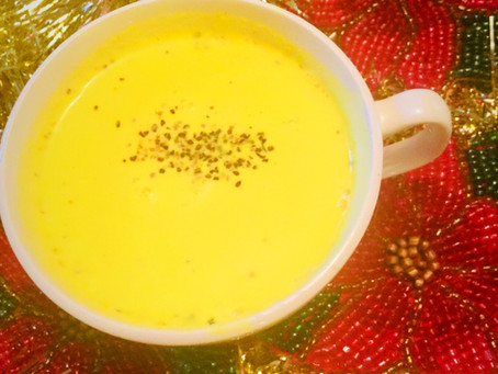 On the Eighth Day of Christmas... Golden Turmeric Milk