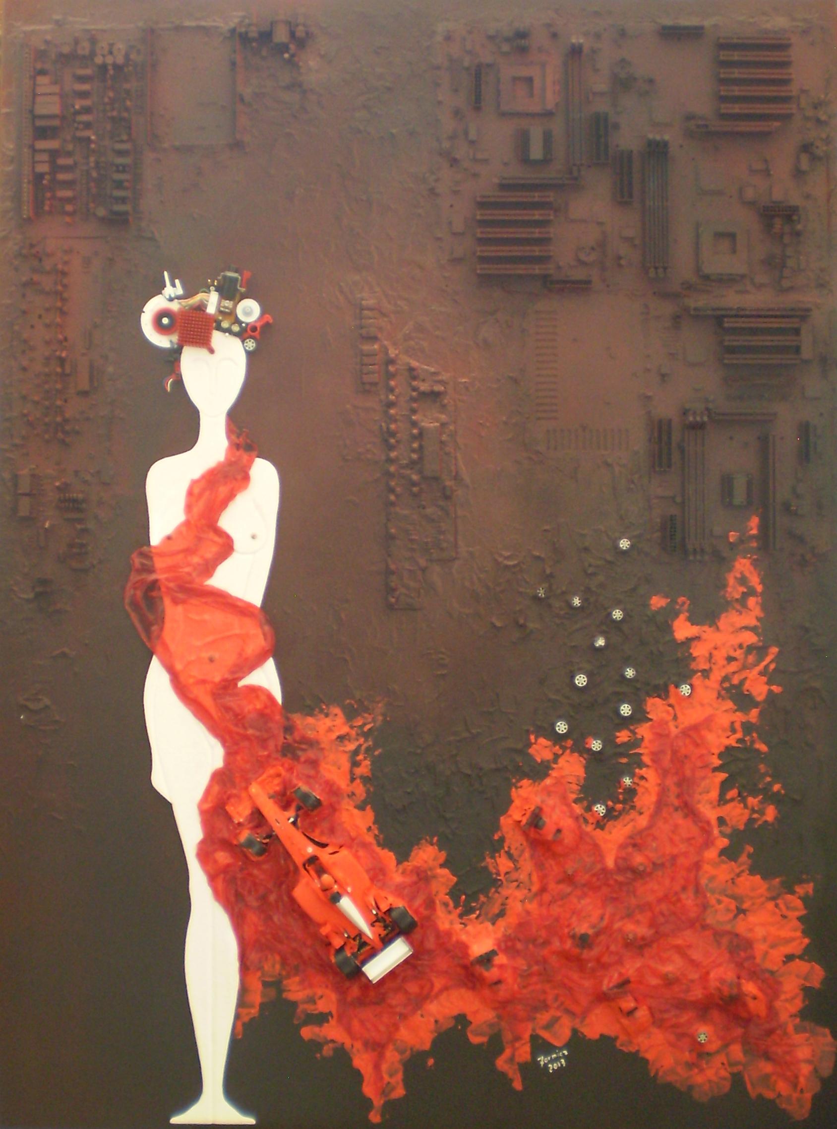 THE ETERNAL RED FEMININE