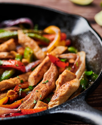 Plant-Based Chicken Fajitas