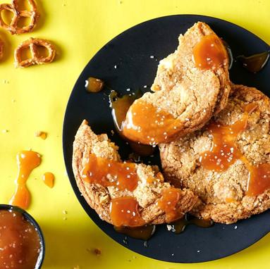Salted Caramel Pretzel Cookie