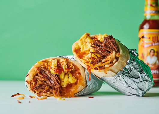 barbacoa breakfast burrito