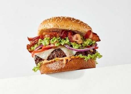 guac & bacon burger