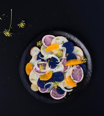 Potato Carpaccio