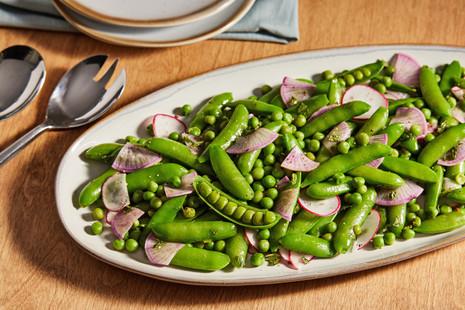 pea radish salad - Washington Post