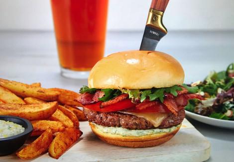 HelloFresh craft burger
