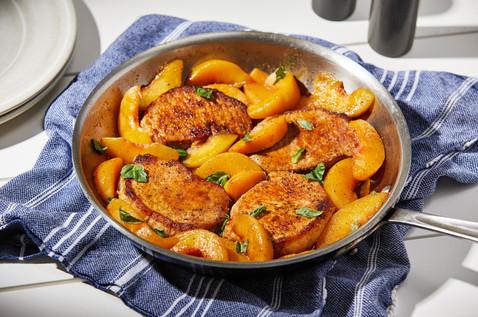 pork and peaches - Washington Post