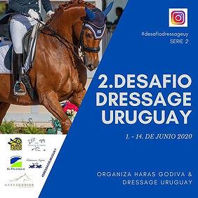 2. DESAFIO DRESSAGE URUGUAY **** Haras G