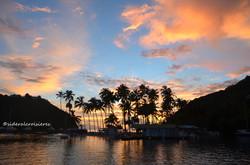 Marigot Bay, St Lucia.