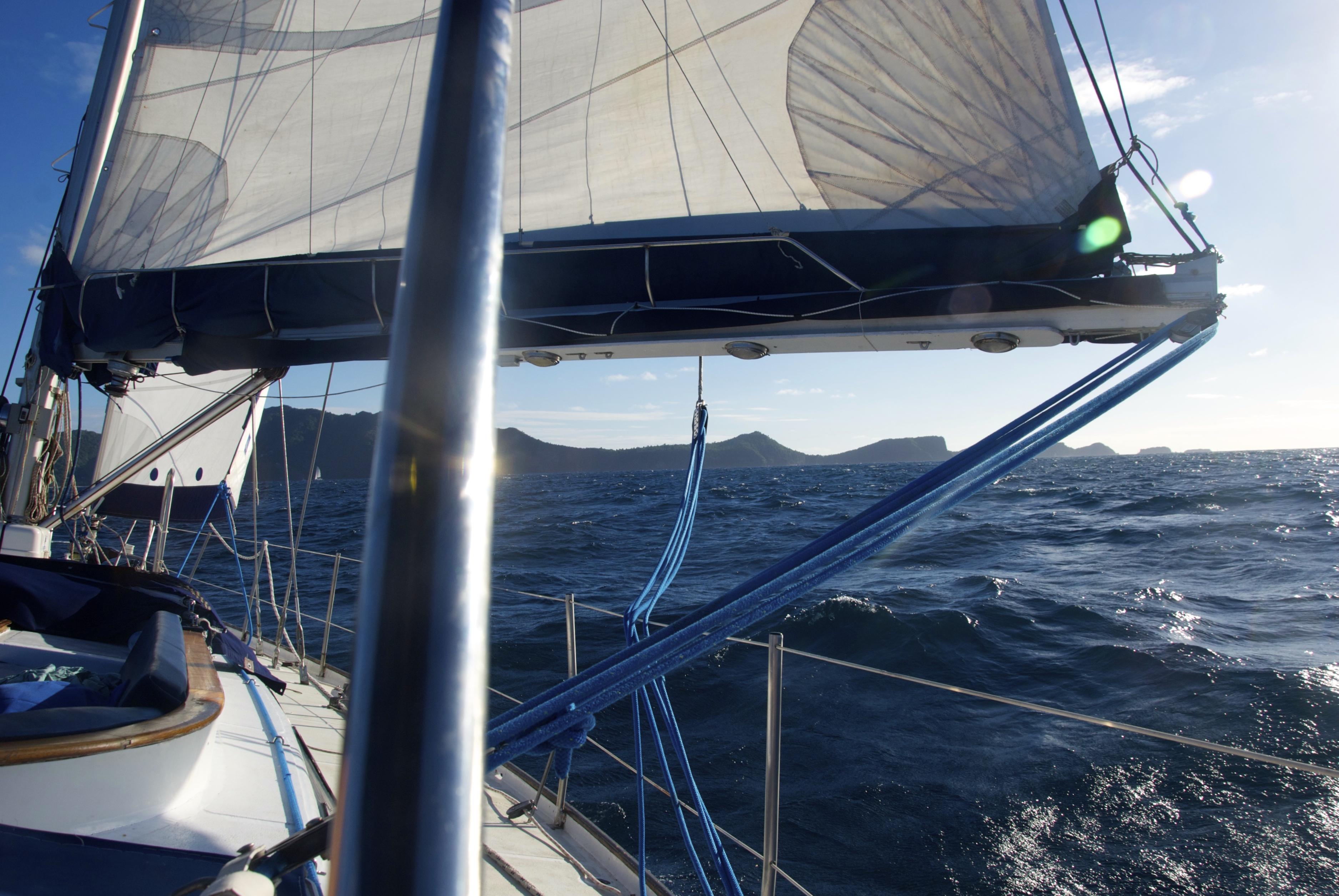 Sideral en navigation vers Bequia