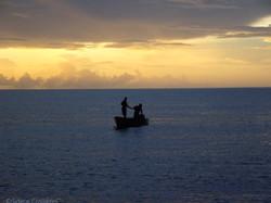 Coucher de soleil à st Lucia