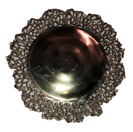 Branchstone Silver Charger