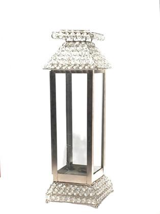 Silver Crystal Tiffany Lantern