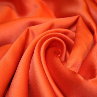 Orange Sateen