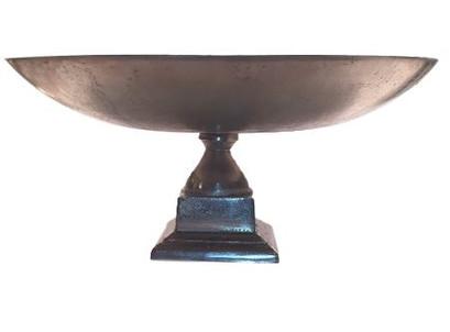 silver urn dish