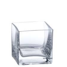 Cylinder Vase Square - 4 inch