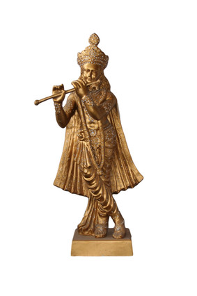 Gold Female - Flute Player