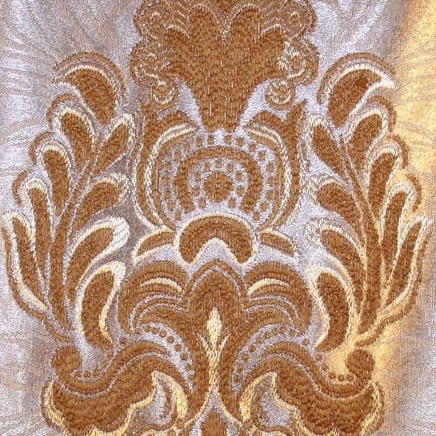 Ivory Gold Damask