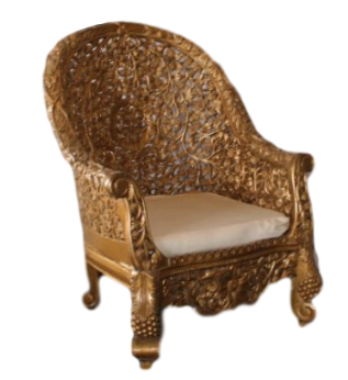 Gold Ceremony Chair