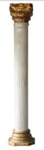 Gold & Ivory Column