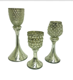 Anthony Stemmed Candle Holders