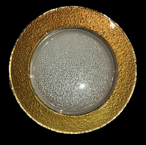 Fused Thick Rim Gold