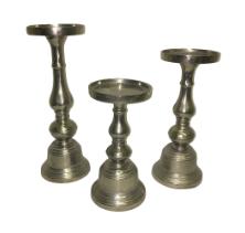 Silver Athena Candlesticks