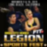 Angel City Heroes, Legion Sports Fest