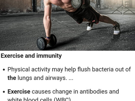 Working Out and Your Immune System