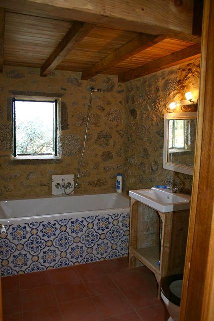 Casa das Pombas badkamer