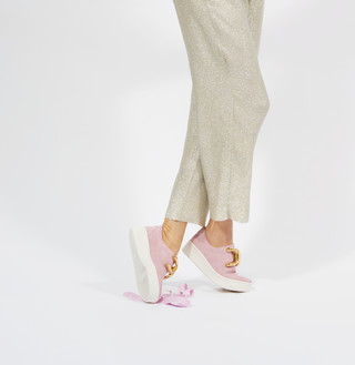 KNOT Suede Pink, 270€