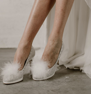 Re-Belle Stiletto, Cuir Lisse Blanc, 279€