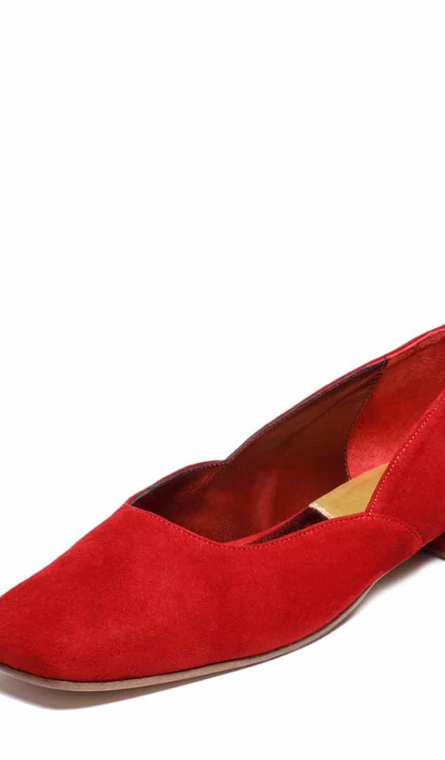 Ballerine Biscotte Rouge / Red Biscotte Ballerina, 235€