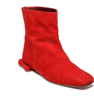 Bottine Biscotte Rouge / Red Biscotte Boot, 315€