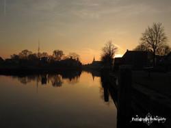 Balk  de Luts  zonsondergang  1- Fotografie Sybrandy