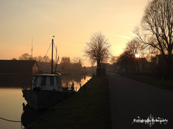 Balk  de Luts  zonsondergang - Fotografie Sybrandy