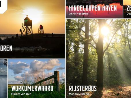 Mijn foto staat op de pagina van Waterland Friesland