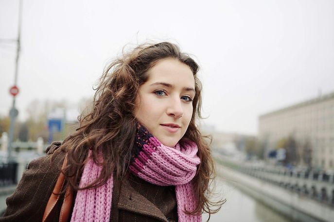 Lady in scarf.JPG
