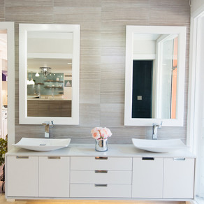 Trending Now - floating vanities