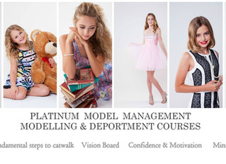 Platinum Model Management Modelling & Deportment Courses