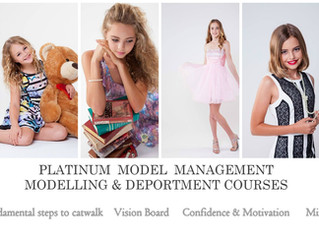 Platinum Model Management Modelling & Deportment Courses