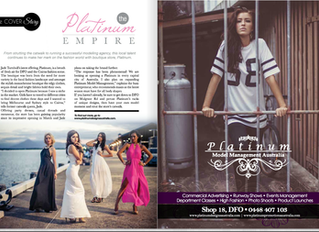Bang Magazine Platinum Models Platinum Empire