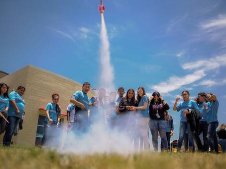 La Joya ISD Migrant Students Launch Rockets at Planetarium