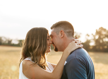 A Perfect Golden Hour Engagement