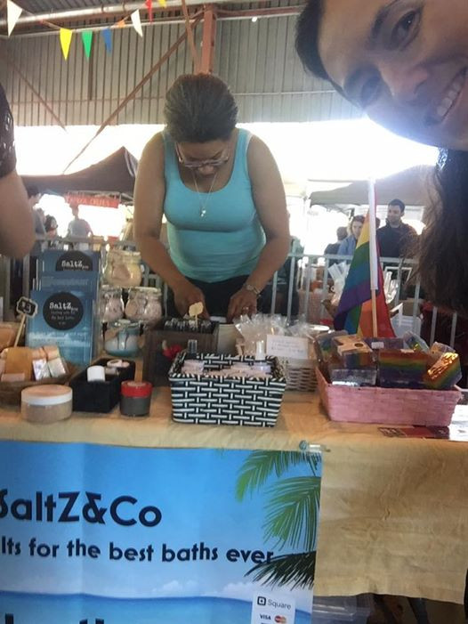 SaltZ&Co booth