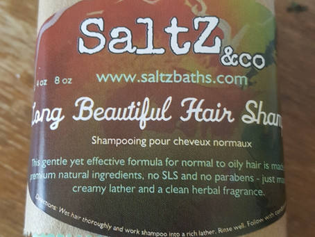 It's a soap! It's a shampoo! No, it's a shampoo bar
