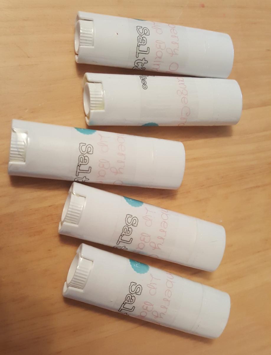 SaltZ&Co beeswax lip balm