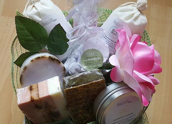 Welcome Spring gift basket